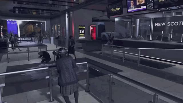 Watch and share Watchdogs GIFs and Granny GIFs by CandyPants on Gfycat