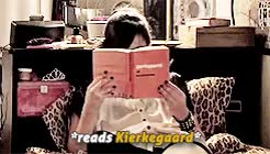 Watch Carmilla + philosophy and literature references () GIF on Gfycat. Discover more *cries from happiness*, @, btw about that nietzsche thing: natasha tweeted that carmilla was reading that, carmilla, i don't even care if no one reblogs it GIFs on Gfycat