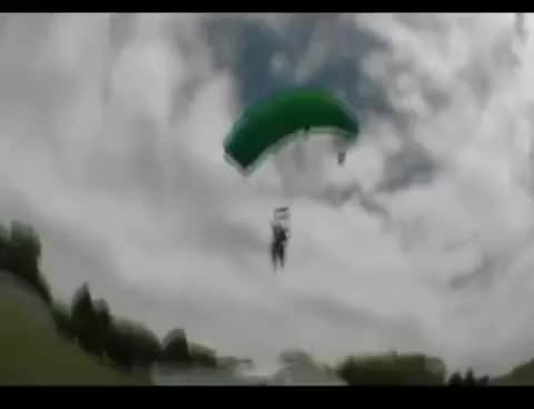 fail, fall, skydiving, Skydiving Fail GIFs