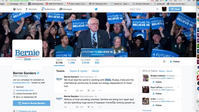 Watch and share Apparently This Happened Yesterday. It Was Up For A Couple Hours Before Sanders Took It Down. Claims He Was Hacked. (reddit) GIFs on Gfycat