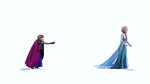 Watch and share Frozen Anna Elsa Snowball 1 GIFs on Gfycat
