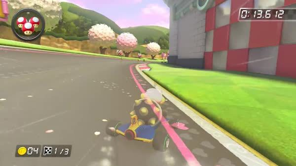 mariokart, Shroomless N64 Royal Raceway SC - WR (reddit) GIFs