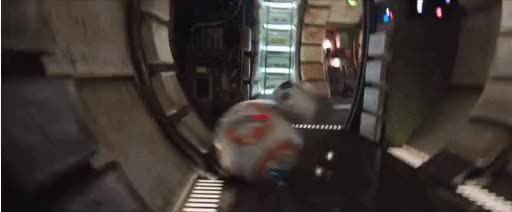 Watch and share BB8 SPIN GIF GIFs on Gfycat