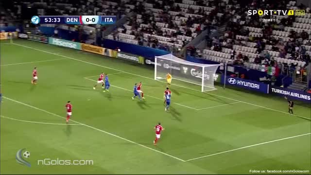 Watch and share (www.nGolos.com) Denmark U21 0-1 Italy U21 - Pellegrini 54' GIFs on Gfycat