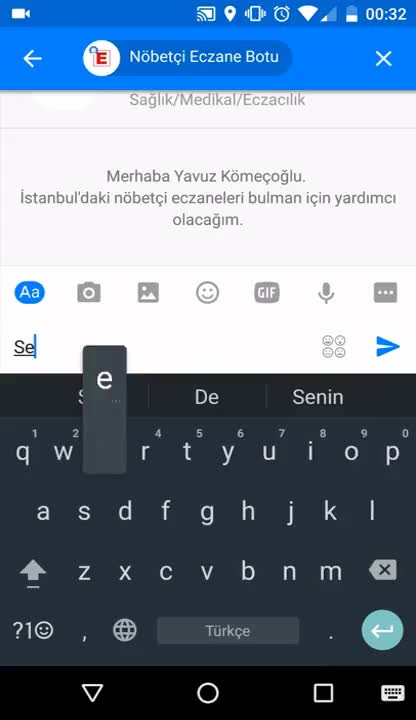 Watch Facebook Messenger Nöbetçi Eczane Botu GIF on Gfycat. Discover more All Tags, Chat, ISTANBUL, bot, chatbot, eczane, facebook, messenger GIFs on Gfycat