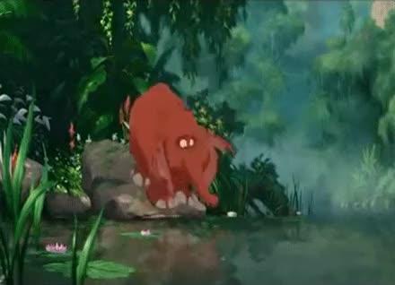 Watch Oh no... GIF on Gfycat. Discover more Disney, SvgEdit, Tarzan, baby elephant, germaphobe, so freaking cute GIFs on Gfycat