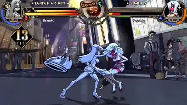 Watch and share Shun Goku Satsu In Skullgirls GIFs on Gfycat