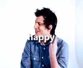 Watch and share Happy Birthday GIFs and Andy Samberg GIFs on Gfycat