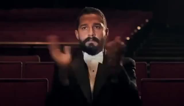 Watch and share Shia LaBeouf Clapping GIFs on Gfycat