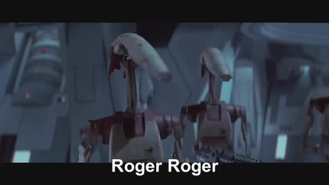 Watch and share Roger Roger GIFs by THE kraken gifER on Gfycat