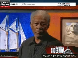 Watch and share Morgan Freeman GIFs and Seriously? GIFs on Gfycat