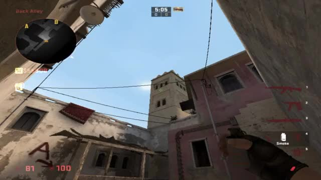 Watch and share Window Smoke For Mirage. GIFs by halycsgo on Gfycat