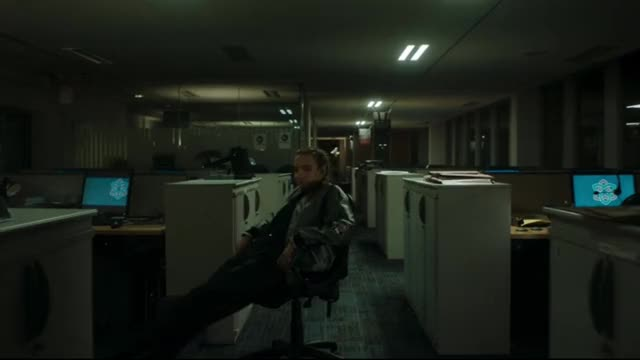 Watch Villanelle, Female Assassin in Bulgaria - Bored Quickly GIF by @winstonchurchillin on Gfycat. Discover more Assassin, Bulgaria, Villanelle, chair, killing eve, oksana, swivel GIFs on Gfycat