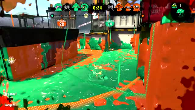 Watch Coming back for more GIF by Tiger Ears (@tigerears) on Gfycat. Discover more Splatoon 2 GIFs on Gfycat