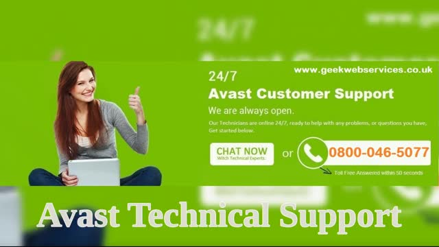 Avast help number uk 0800-046-5077 Avast Support