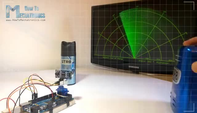 Watch and share Arduino Radar Project GIFs on Gfycat