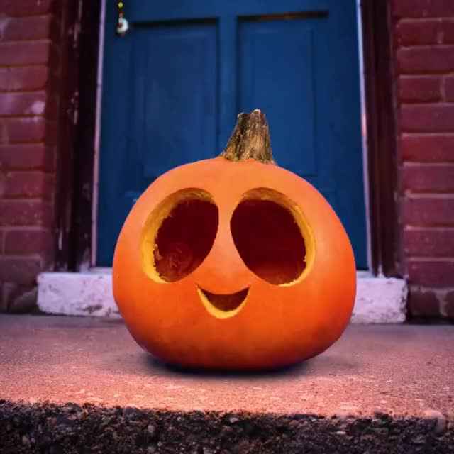 Watch and share Animation I Made With A Bunch Of Carved Pumpkins GIFs on Gfycat