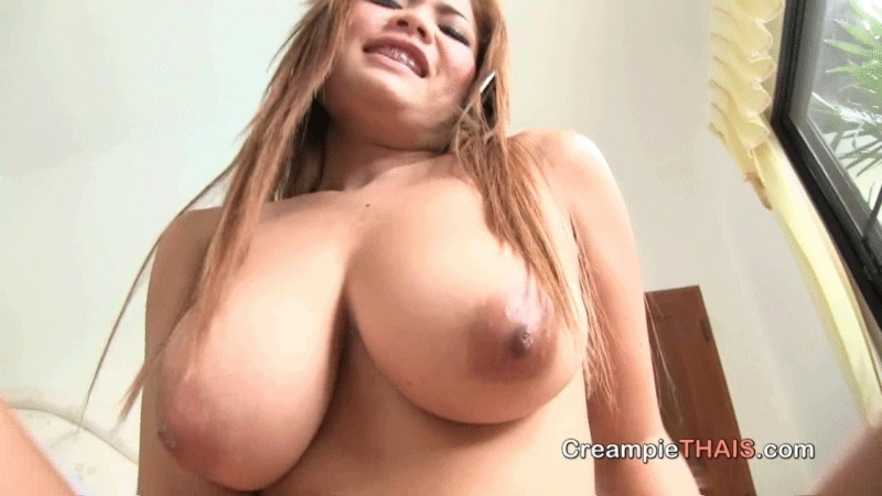 Busty, braces, bouncing on top