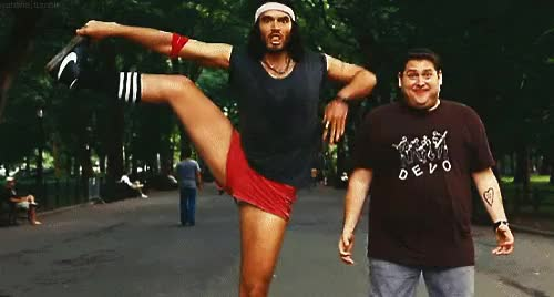 Watch and share Russell Brand GIFs and Jonah Hill GIFs on Gfycat