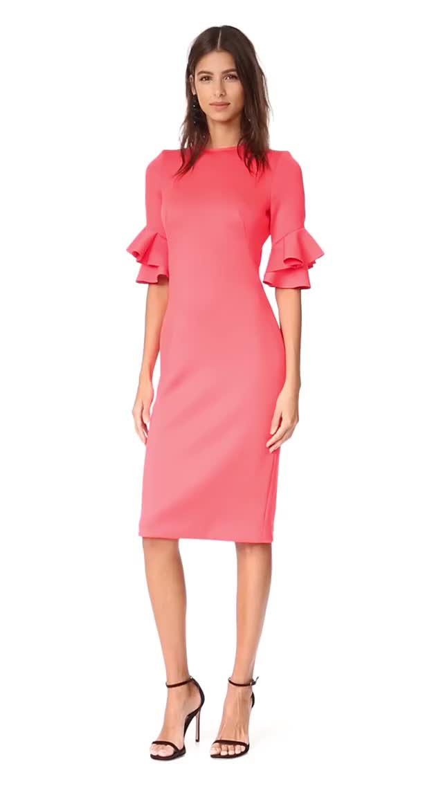 Watch and share Black Halo Josie Sheath Dress SHOPBOP SAVE UP TO 30% Use Co X264 GIFs on Gfycat