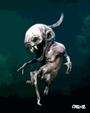 creepy, foetus, frenz, horror, Creepy Foetus GIFs