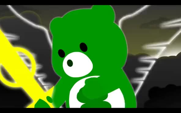 Watch and share Special Beam Cannon GIFs and Care Bear Stare GIFs on Gfycat