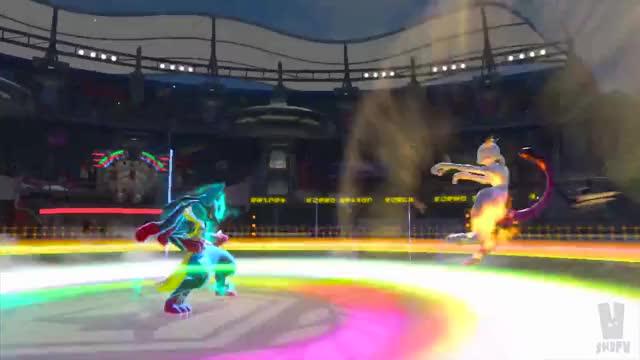 Lucario burst attack