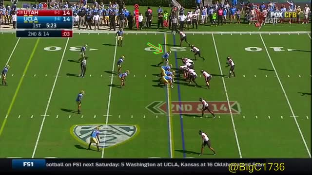 Watch and share Takkarist Mckinley GIFs and College Football GIFs by oriese on Gfycat