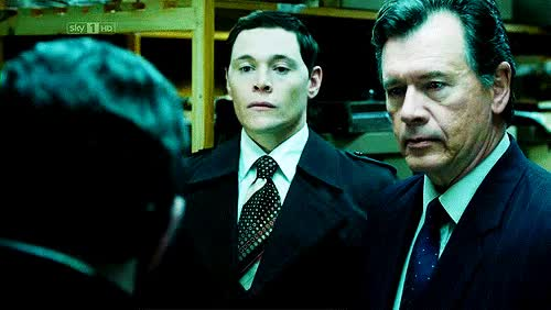 Watch and share Burn Gorman GIFs and The Runaway GIFs on Gfycat