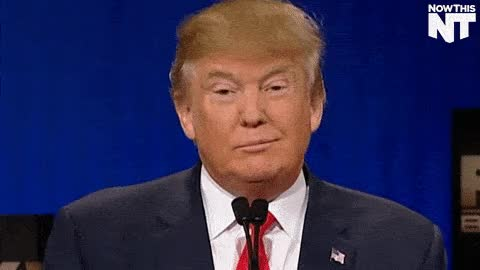 Watch and share Donald Trump Smiling GIFs on Gfycat