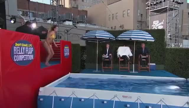 Watch and share Belly Flop GIFs and Tamara GIFs on Gfycat