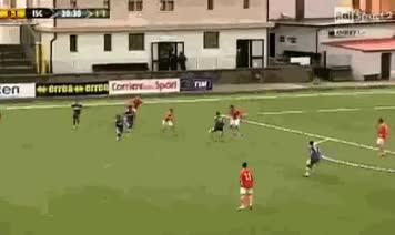 Watch and share Goalkeeper Scores Bizarre Own Goal GIFs on Gfycat