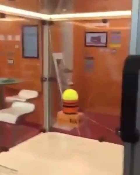 The way this machine catches the tennis ball GIFs