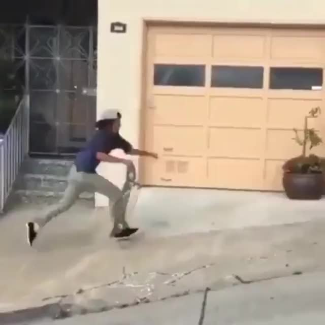 Watch and share Skating Down A Hill GIFs by HoodieDog on Gfycat