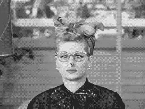 Happy Birthday Lucille Ball GIF