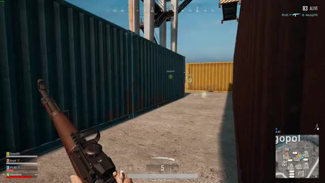 Watch and share Kar98 Reddot Jump GIFs on Gfycat
