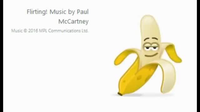 Watch Flirting GIF on Gfycat. Discover more 2016, addicting, banana, beat, communications, emoji, entertain, entertainment, epic, exciting, five, funny, girls, interesting, kinky, ltd, mccartney, music, paul, skype GIFs on Gfycat