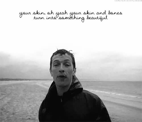 Watch and share Amazing, Chris Martin, Coldplay, I Love You, Yellow GIFs on Gfycat