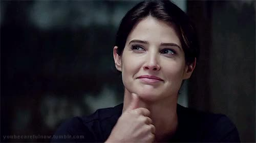 Watch this trending GIF by Reaction GIFs (@sypher0115) on Gfycat. Discover more Cobie Smulders, you can do it, you go girl, you got this GIFs on Gfycat