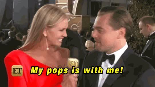 LeonardoDiCaprio, goldenglobes, pops, Leonardo DiCaprio GIFs