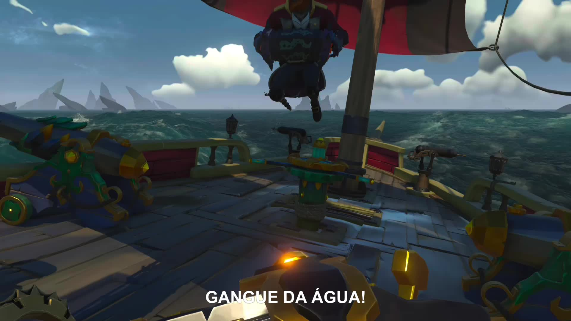 Brizzier, SeaofThieves, gamer dvr, xbox, xbox one, Gangue da Água GIFs
