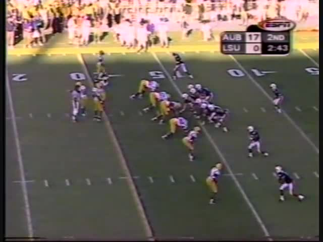 1999 football sec auburn lsu, 1999 Auburn vs. LSU GIFs