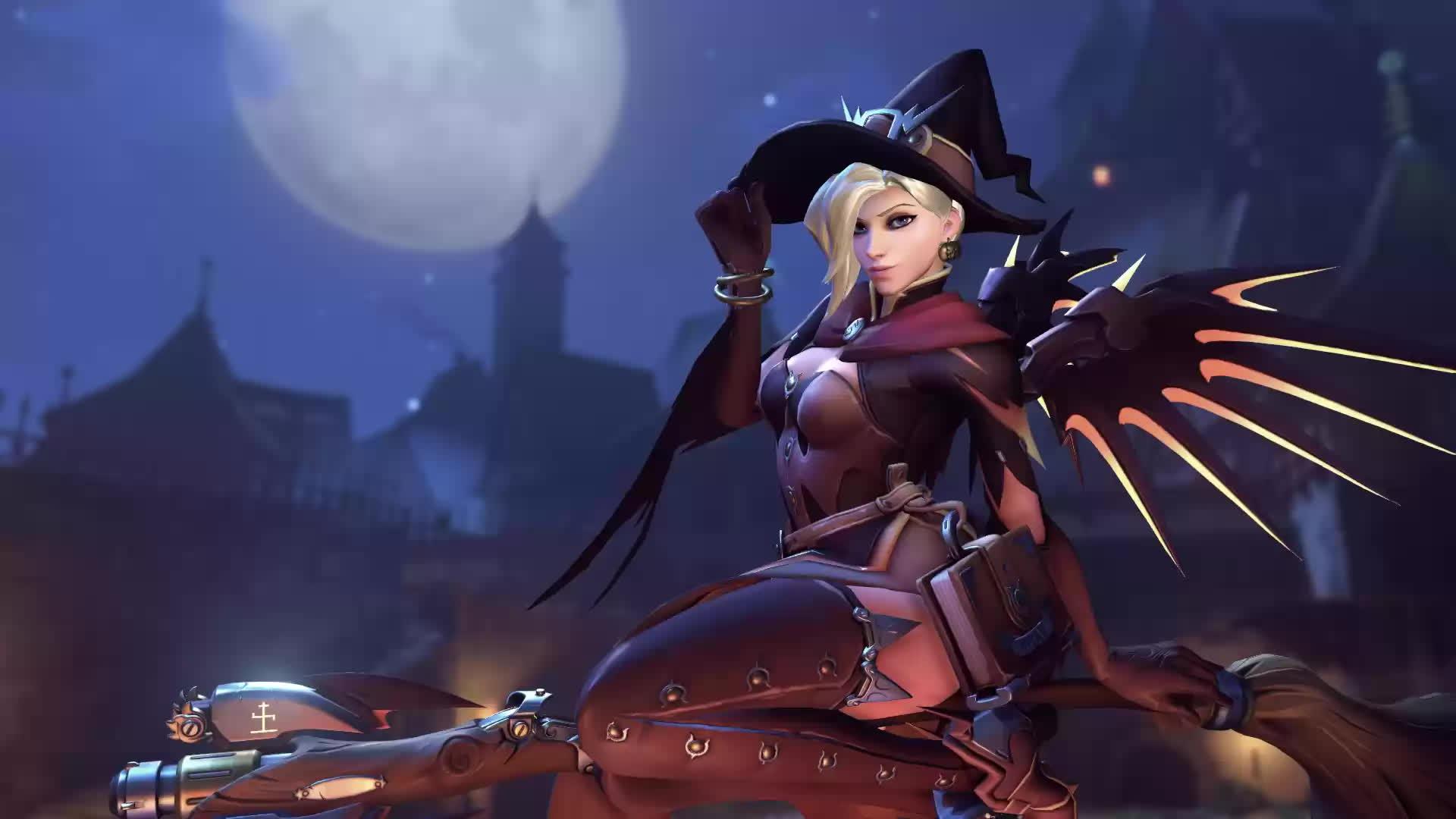 Overwatch Mercy Riding Sound Howlsfm Mobile
