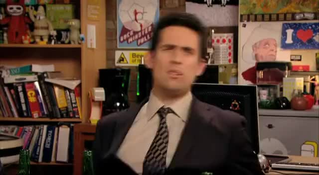 Watch this trending GIF on Gfycat. Discover more Chris, Dungeons, Graham, Humor, Moss, Sitcom, ayoade, comedy, dowd, dragons, funny, laughs, linehan, play, playing, richard, role, roy, series, television GIFs on Gfycat