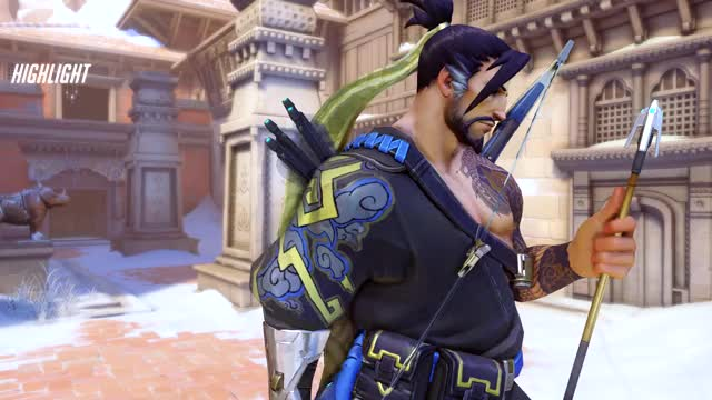 Watch no mei..no GIF by @classicbug on Gfycat. Discover more hanzo, highlight, overwatch, potg, potg? GIFs on Gfycat
