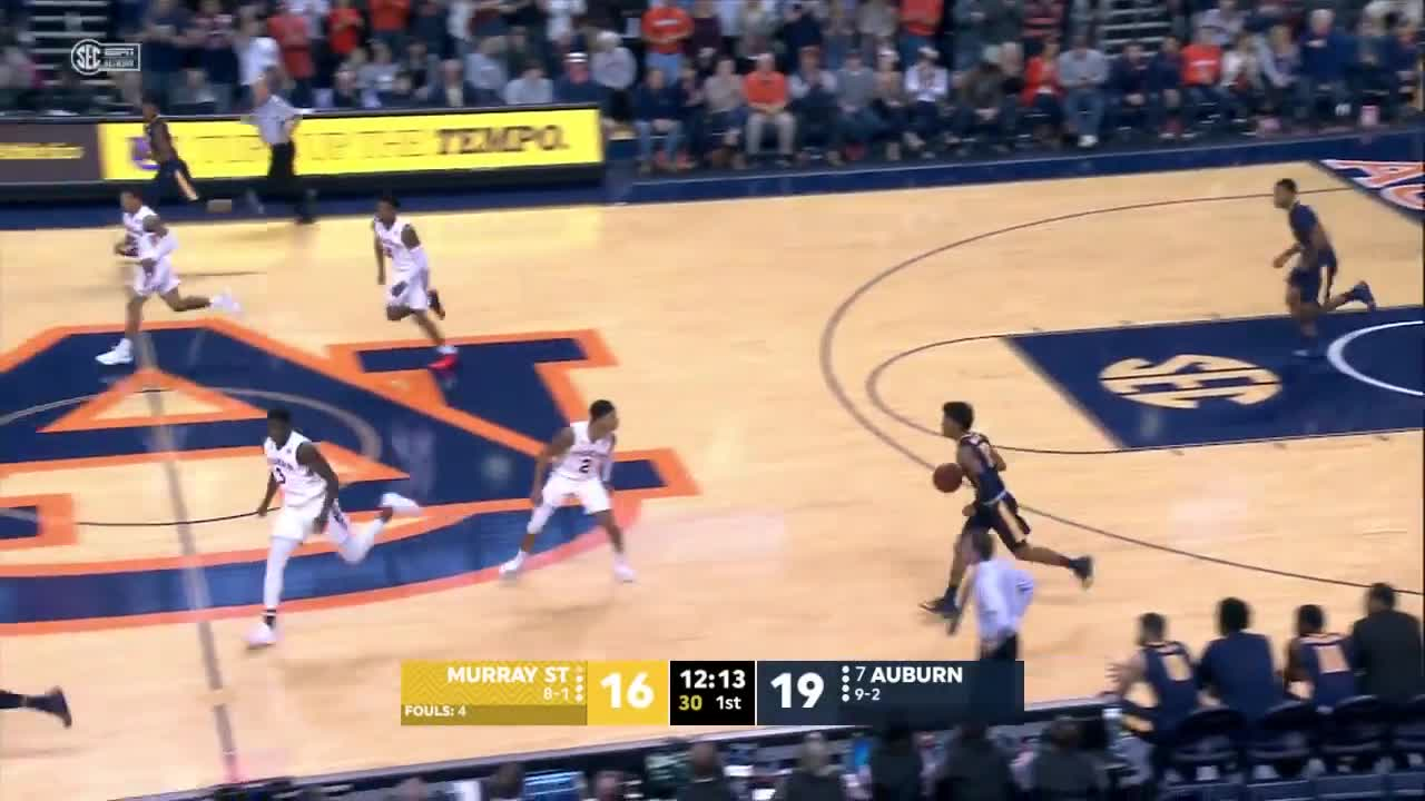 AuburnTigers, Sports, auburn, tigers, Auburn Men's Basketball Highlights vs. Murray State GIFs