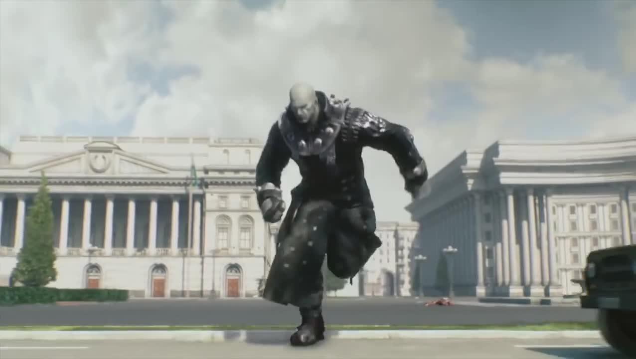 Resident Evil Damnation 2012 Tyrant Scene Part 2 Gif Gfycat