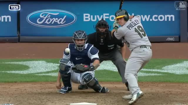 Watch and share Betances Knocks Off Glove GIFs on Gfycat