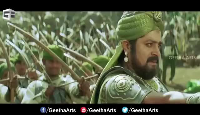 Watch and share Ram Charan 100 Soldier Fight || Magadheera Telugu Movie || Geetha Arts GIFs on Gfycat