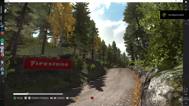 Watch and share Lucky Escape In Dirt Rally GIFs on Gfycat